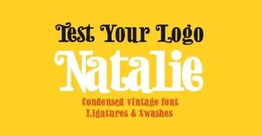 Natalie [3 Fonts]   The Fonts Master