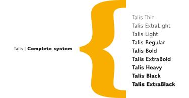 Talis Super Family [30 Fonts]