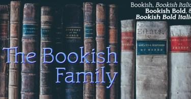 Bookish [4 Fonts]