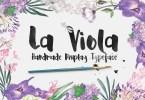 La Viola [1 Font] | The Fonts Master