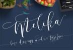 Melika Script [6 Fonts] | The Fonts Master