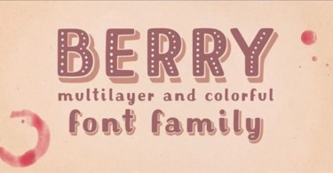Mrs. Berry [6 Fonts]   The Fonts Master