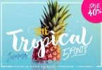 The Tropical [6 Fonts] | The Fonts Master