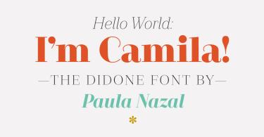 Camila [14 Fonts]   The Fonts Master