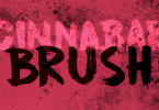 Cinnabar Brush [1 Font]   The Fonts Master