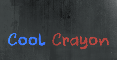 Cool Crayon [1 Font]   The Fonts Master