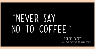 Dolce Caffe [2 Fonts] | The Fonts Master