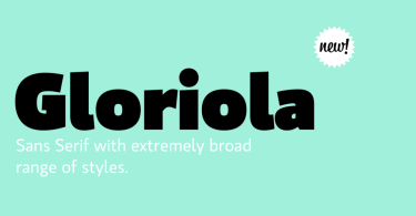 Gloriola [14 Fonts]