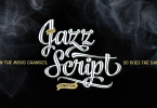 Jazz Script [11 Fonts] | The Fonts Master