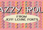 Jazzy Roll Jnl [1 Font] | The Fonts Master