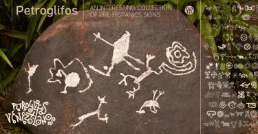 Petroglifos [1 Font] | The Fonts Master