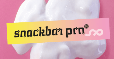 Ps Snackbar Prn [2 Fonts] | The Fonts Master