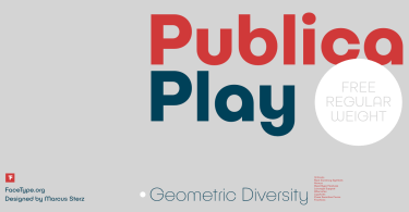 Publica Play Super Family [18 Fonts] | The Fonts Master