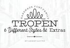 Tropen [7 Fonts] | The Fonts Master