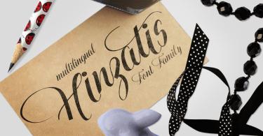 Hinzatis [4 Fonts]