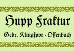 Hupp Fraktur [1 Font] | The Fonts Master