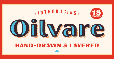 Oilvare [18 Fonts] | The Fonts Master