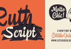 Ruth Script [3 Fonts] | The Fonts Master