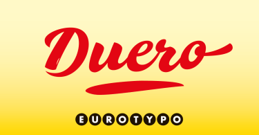 Duero [1 Font] | The Fonts Master