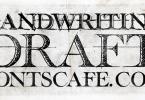 Handwriting Draft [3 Fonts] | The Fonts Master