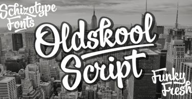 Oldskool Script [1 Font] | The Fonts Master