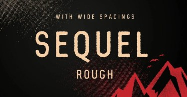 Sequel Rough [2 Fonts] | The Fonts Master