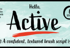 Active [6 Fonts] | The Fonts Master