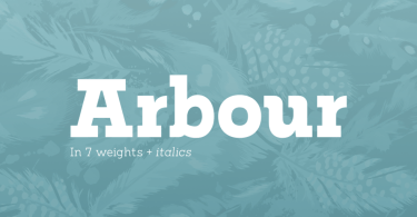 Arbour [14 Fonts] | The Fonts Master
