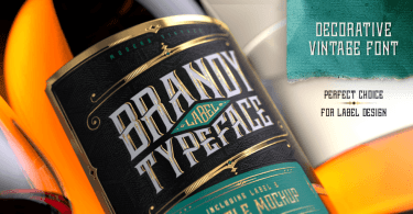 Brandy Label [4 Fonts] | The Fonts Master
