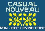 Casual Nouveau Jnl [1 Font] | The Fonts Master
