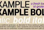 Example [8 Fonts] | The Fonts Master