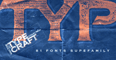 Fm Bolyar Typecraft Super Family [70 Fonts] | The Fonts Master