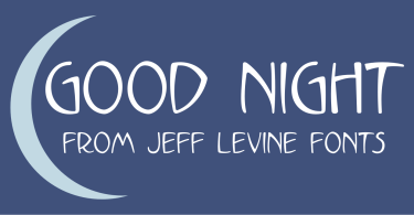 Good Night Jnl [1 Font] | The Fonts Master