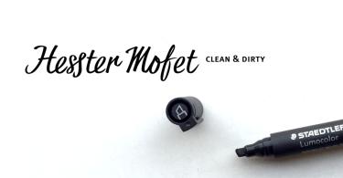 Hesster Mofet [2 Fonts]