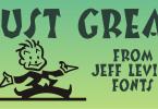Just Great Jnl [1 Font] | The Fonts Master