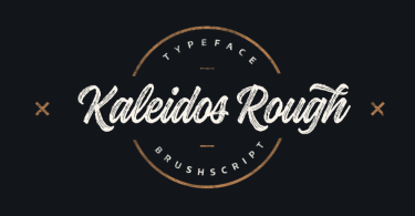 Kaleidos Rough [2 Fonts] | The Fonts Master