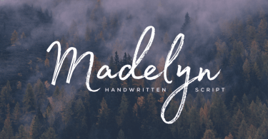 Madelyn Script [4 Fonts] | The Fonts Master