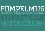 Pompelmus [5 Fonts] | The Fonts Master
