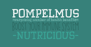 Pompelmus [5 Fonts] | The Fonts Master