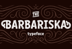 Rf Barbariska [6 Fonts] | The Fonts Master