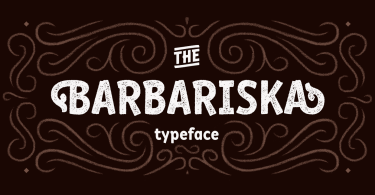 Rf Barbariska [6 Fonts] | The Fonts Master