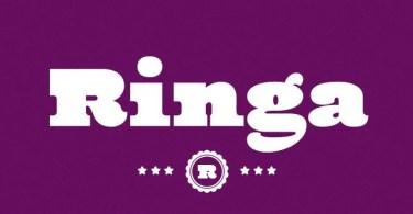 Ringa [1 Font] | The Fonts Master