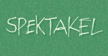 Spektakel [1 Font] | The Fonts Master