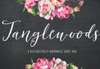 Tanglewoods [4 Fonts] | The Fonts Master