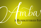 Ambar [6 Fonts] | The Fonts Master