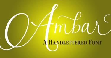 Ambar [6 Fonts] | The Fonts Master