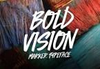 Bold Vision [1 Font] | The Fonts Master