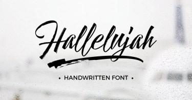Hallelujah [5 Fonts] - The Fonts Master
