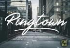 Ringtown Script [5 Fonts] | The Fonts Master