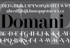 Domani Cp [1 Font]   The Fonts Master